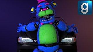 Gmod FNAF | Torturing Help Wanted Blacklight Freddy!