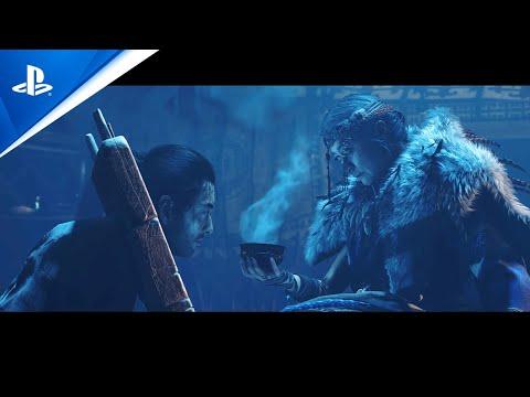 Ghost of Tsushima Director's Cut : Bande-annonce de l'histoire (Extension île d'iki) - japonais