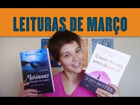 Leituras de Março | Quatro Sentidos