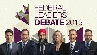 Federal Leaders' Debate 2019