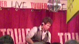 "Josh Ritter ""Lark"", Tower Records, Dublin.AVI"