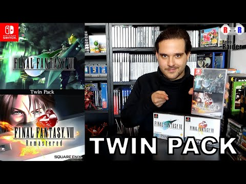 Final Fantasy VII & Final Fantasy VIII REMASTERED TWIN PACK For The Nintendo Switch - Retro Raider