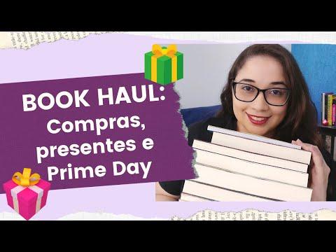 BOOK HAUL: Compras, presentes e Prime Day ?? | Biblioteca da Rô