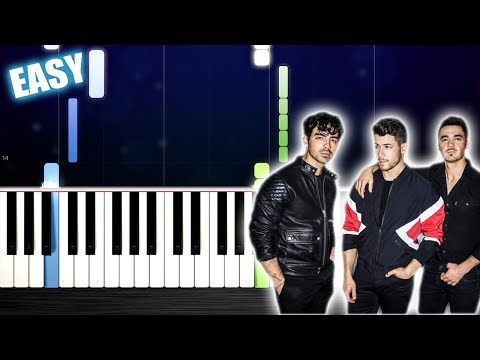 Jonas Brothers - Sucker - EASY Piano Tutorial by PlutaX