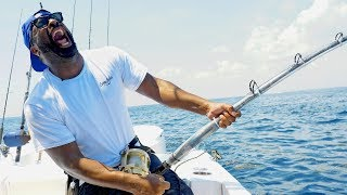 Catching Monster Fish with DJ IRIE