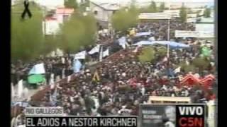 C5N EL ADIÓS A NÉSTOR KIRCHNER