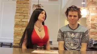 Annah Minx and Onision - Charlie Charlie Challenge