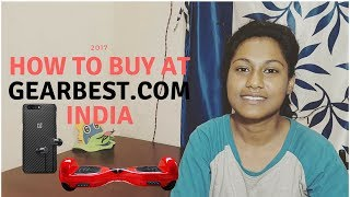 ORDER FROM GEARBEST FROM INDIA