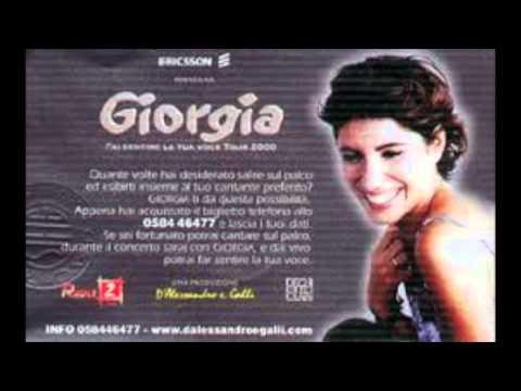 , title : 'GIORGIA - Io come te - Fai sentire la tua voce Tour - Luglio 2000 @ Villa Celimontana Roma'