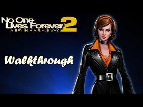 [PC] No One Lives Forever 2: A Spy In H.A.R.M.'s Way (2002) Walkthrough