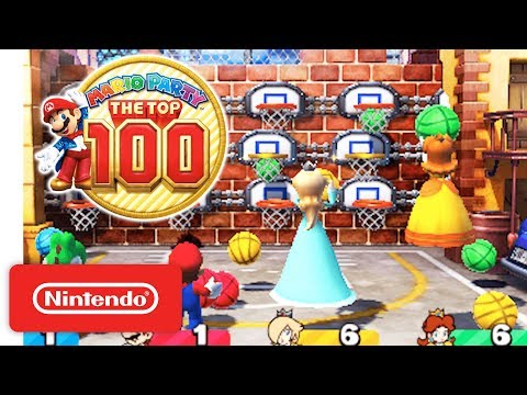 Mario Party: The Top 100 - Game Modes & amiibo Trailer - Nintendo 3DS thumbnail