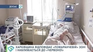 """Харківщина відповідає """"помаранчевій"""" зоні і наближається до """"червоної"""""""