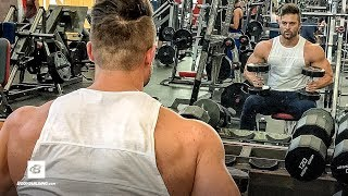 Big Back & Bi's Workout w/ Q&A | Flex Friday with Trainer Mike by Bodybuilding.com