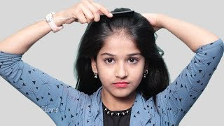 Quick Self Hairstyle For Girls | Self Hairstyles 2019 | New Hairstyles For Party/wedding