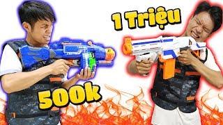 Tony | Đại Chiến Súng Liên Thanh - Nerf Gun Fight