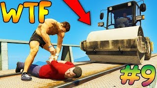 СМЕШНЫЕ МОМЕНТЫ И ФЕЙЛЫ В GTA 5 И GTA ONLINE #9 | GTA 5 & ONLINE FUNNY MOMENTS AND FAILS