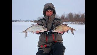 Зимняя ловля рыбы на вертолет