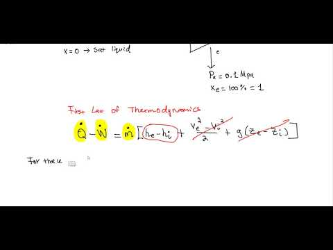 FE Exam Practice - First Law of Thermodynamics - YouTube