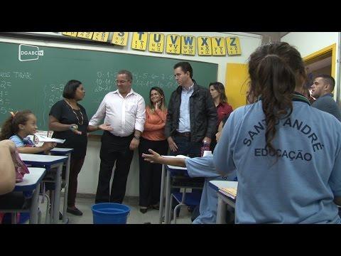 Santo André retoma manutenção de escolas;