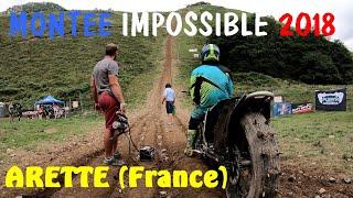 Montée impossible 2018 à Arette (France)