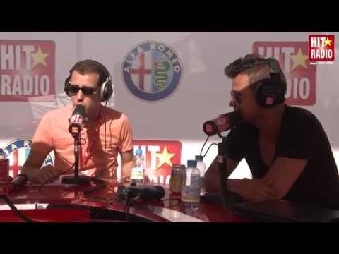 AMINE EN INTERVIEW AVEC MOMO AU MGP 2014 SUR HIT RADIO