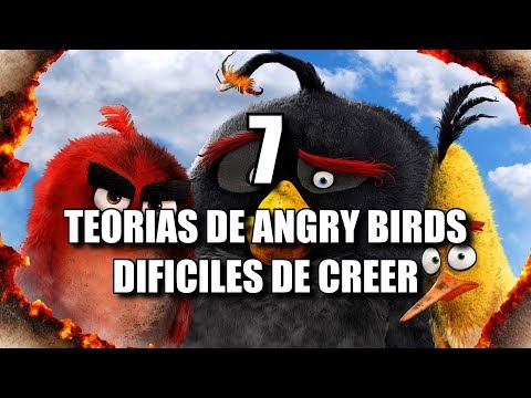 7 TEORIAS de ANGRY BIRDS DIFICILES de CREER que no CONOCES