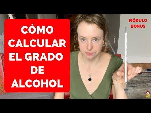 Cómo usar un DENSÍMETRO para calcular el grado de ALCOHOL - MÓDULO BONUS