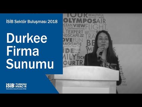 İSİB Sektör Buluşması 2018 – Durkee Firma Sunumu