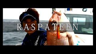 """2016 NEW PRODUCT """"Raspateen TG″ / """"ラスパティーン TG″ 実釣PV"""