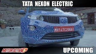 Tata Nexon Electric - 300 kms of RANGE   Hindi   Upcoming   Motoroctane