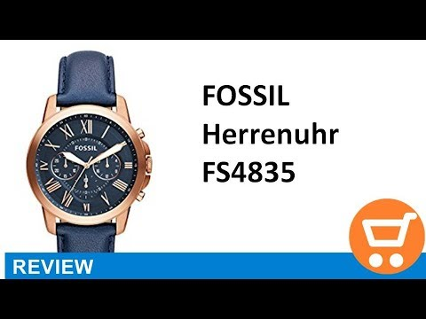 Fossil Herren-Uhren FS4835 - Review | deutsch / german
