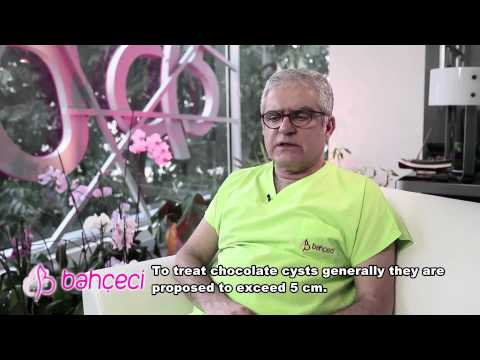 How endometriosis and chocolate cysts are treated? Do they require operations?
