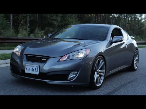 Hyundai Genesis Coupe Review!