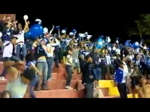 """La fuerza azul en heredia"" Barra: Fuerza Azul • Club: Cartaginés"