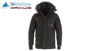 Kilpi, Pilot, giacca invernale, uomo, nero