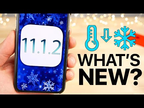 iOS 11.1.2 Released! What's New Review