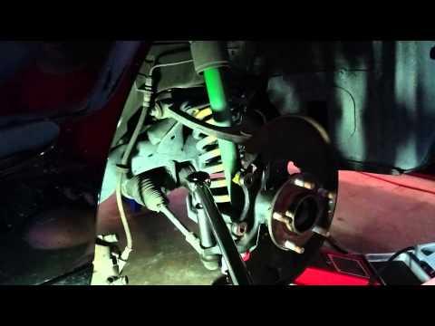1998 Jaguar XJR - Front Brakes and Wheel Bearings
