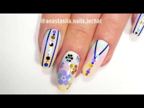 Sponge Painting Nail Tutorial