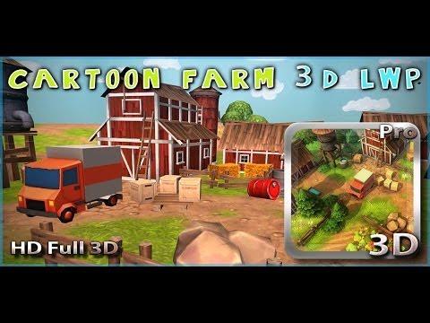Video of Cartoon Farm 3D Live Wallpaper