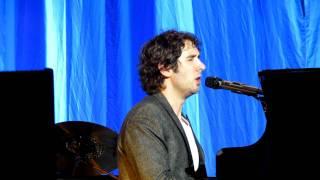 Josh Groban in Amsterdam 2011 - Talking (he had sex!) and singing Higher Window
