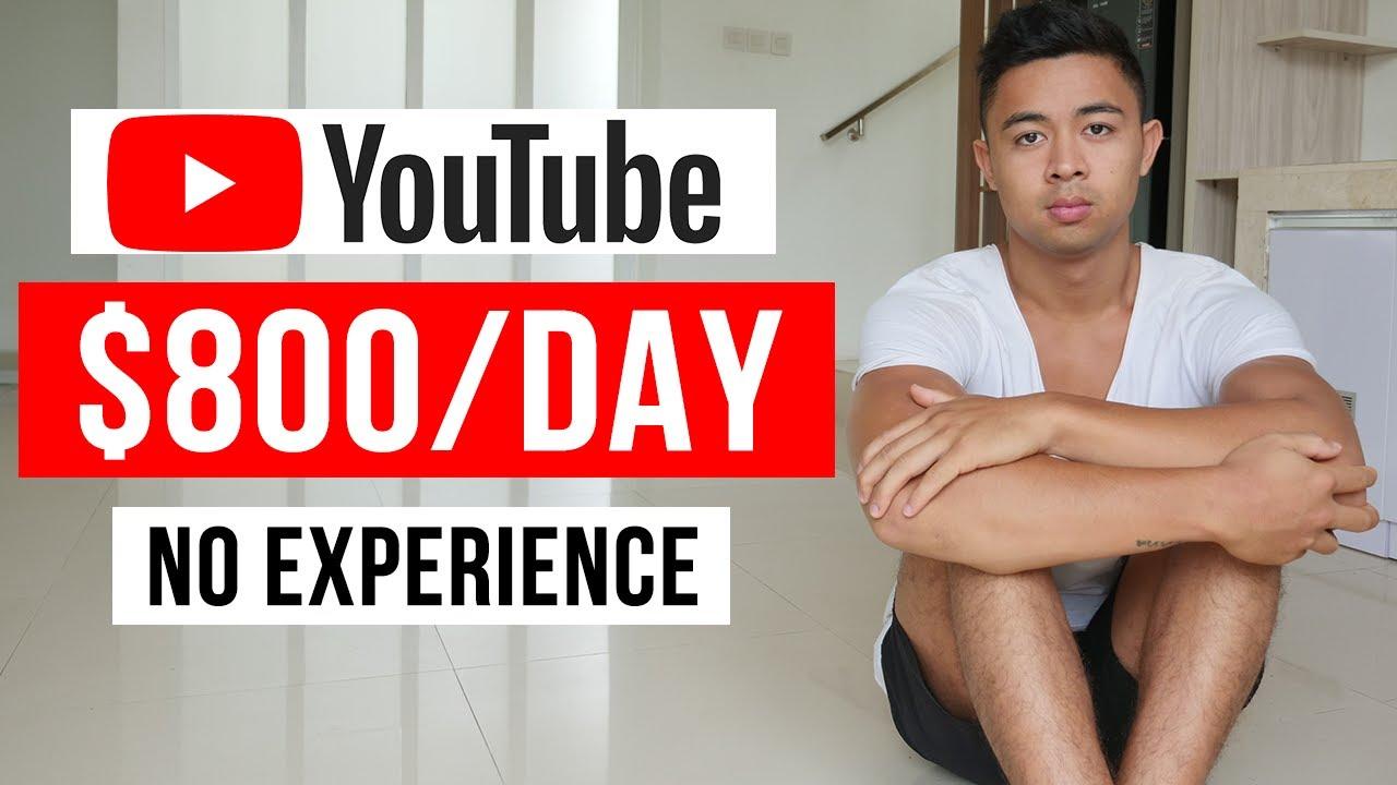 Make $800 Watching YouTube Videos (Make Money Online) thumbnail