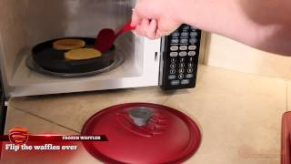Toasting Frozen Waffles In The Microwave With Reheatza®