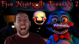 Five Nights At Freddy's 2 Demo Gameplay Part 1: Night 1 And THE MARIONETTE IS HERE...