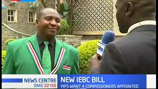 New IEBC Law: MPS vote on law for recruitment, 4 commissioners to be appointed