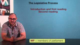 VCE Legal Studies - The legislative process