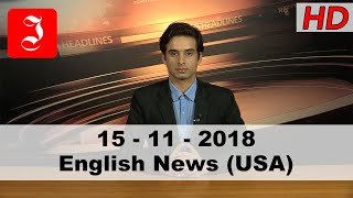 News English USA 15th Nov 2018