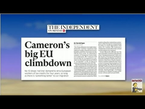 Video Cameron's EU negotiation undone by benefit tourism overeach