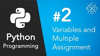 Python Programming #2 - Variables and Multiple Assignment