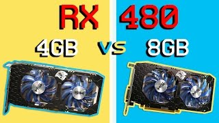 RX 480 - Battle of the Gigs! - 4GB vs 8GB