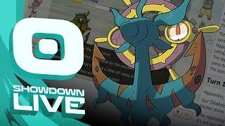 Dhelmise  - (Pokémon) - Pokemon Sun and Moon! Showdown Live: Enter Dhelmise - Dhelmise Showcase!